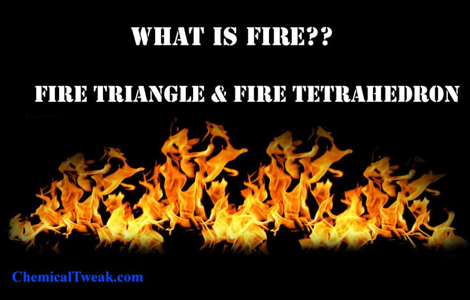 fire triangle definition
