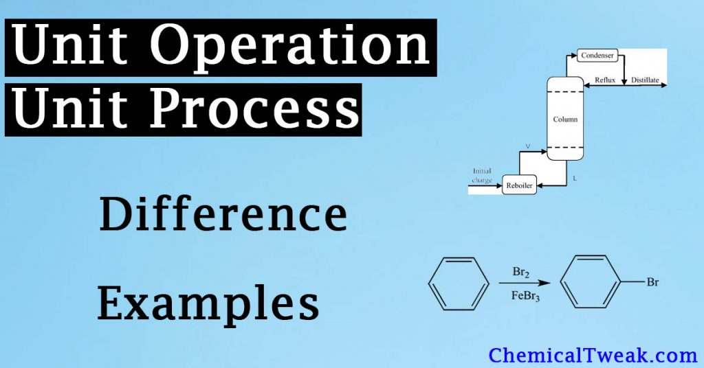 Unit operation and Unit Process   Difference between unit operation and unit process 1