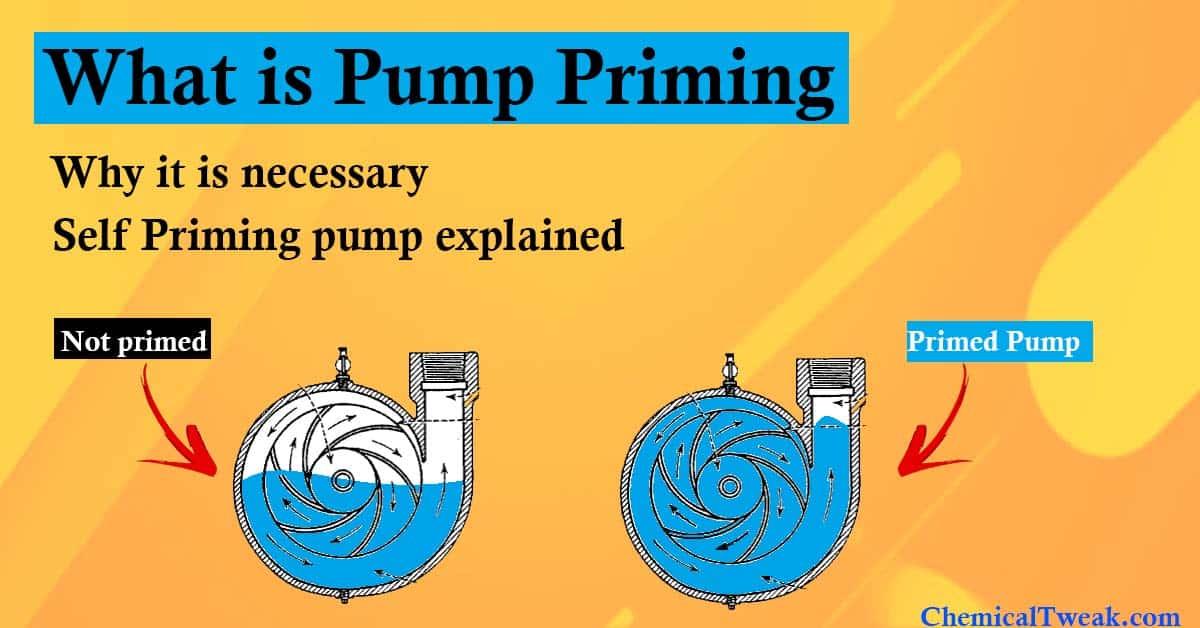 pump priming chemicaltweak