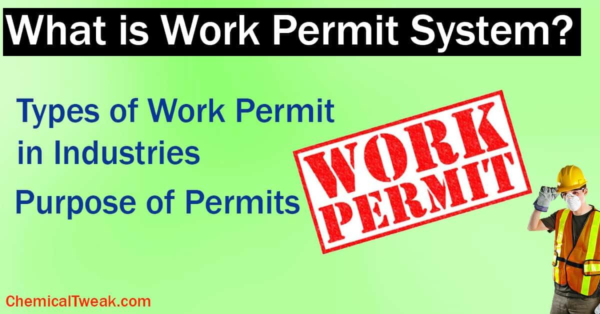 Types of Safety Work Permit