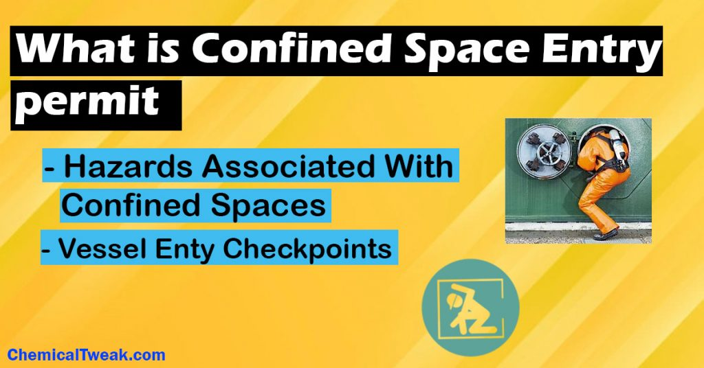 OSHA confined space entry permit