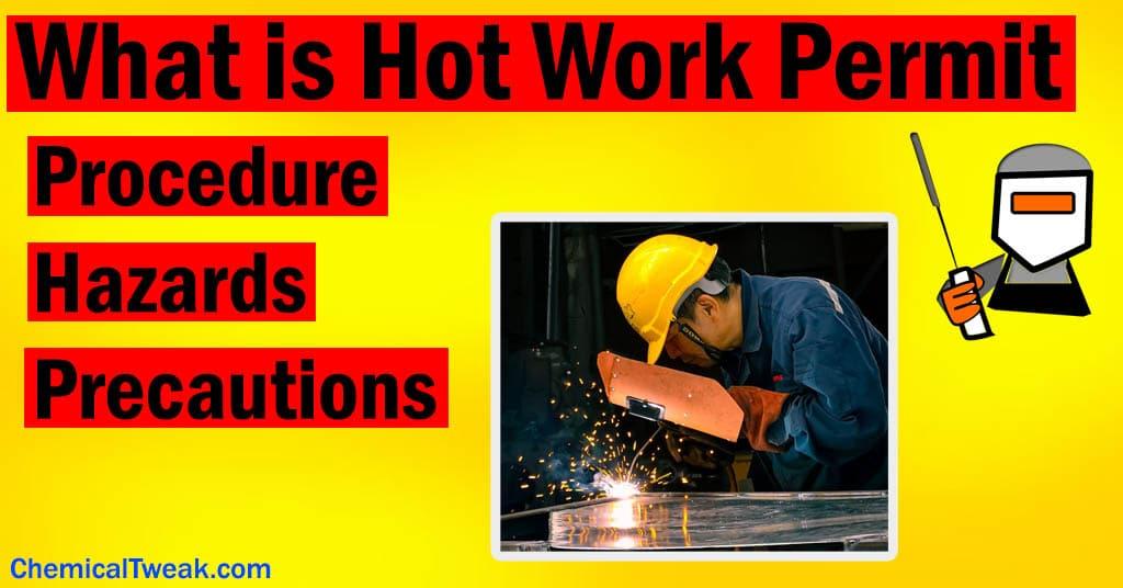 hot work permit safety permit