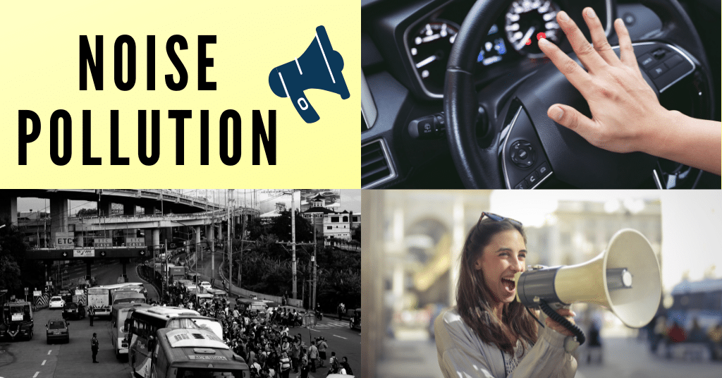 what causes noise pollution