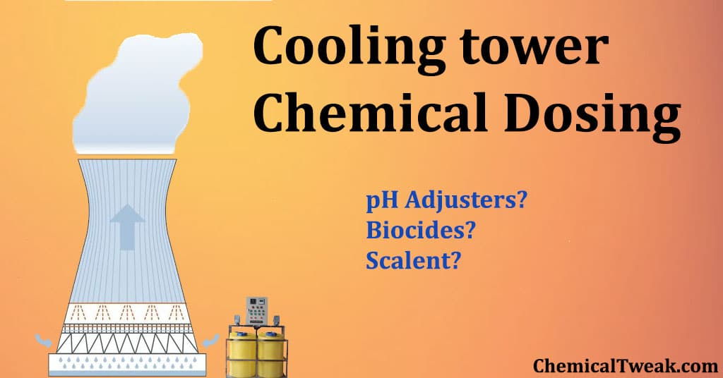 Cooling tower chemical dosing